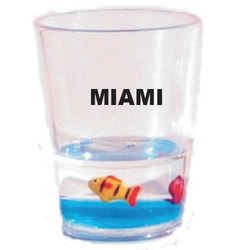 Floating Shot Glasses