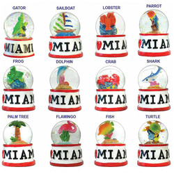 MIAMI WATER GLOBE MAGNETS