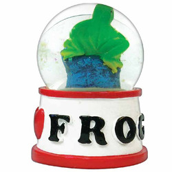 FROG WATER GLOBE MAGNETS