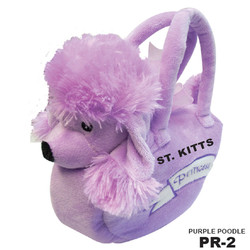 PURPLE POODLE BAG PALS