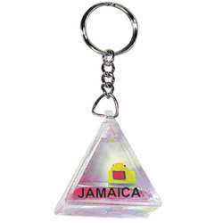 FLOATING COLOR KEY CHAIN PYRAM