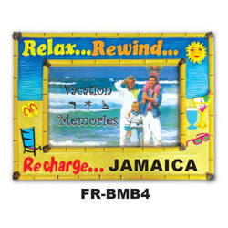 Relax & Rewind Bamboo Picture Frame
