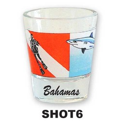 DIVER & SHARK SHOT GLASS