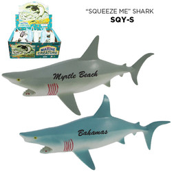 SQUEEZE SHARK TOY (2 DZ/ DSP)