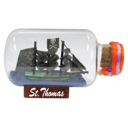 "Ships In A Bottle | Size: 1.75"" x 3"""