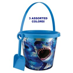 3D BEACH PAIL WITH SHOVEL