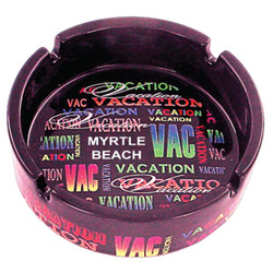 Vacation Signature Collection Ceramic Ashtray