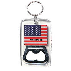 KY CHAIN BTL OPENER USA FLAG