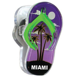 PALM TREE, Sandal Acrylic Memo Clip Magnets
