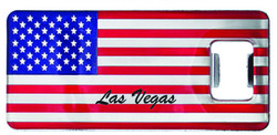 USA FLAG Bottle Opener Magnets Las Vegas