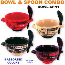 Bowl & Spoon Combo