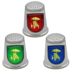 STAINLESS STEEL THIMBLES. BEACH CHAIR