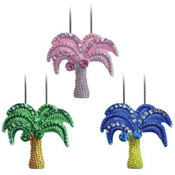 Crystal Palm Tree Necklaces