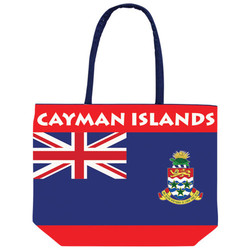 CAYMAN ISLANDS FLAG BEACH BAG