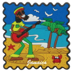 RASTA PVC STAMP MAGNETS
