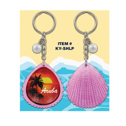 Clam Shell Keychains
