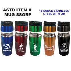 Stainless Steel Grips Mugs