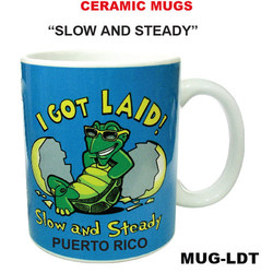 Slow and Steady Ceramic Mug