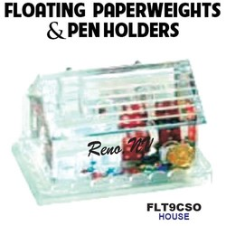House Paperweight & Pen Holder