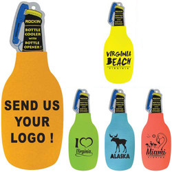 NEON COLORS BOTTLE COOLER