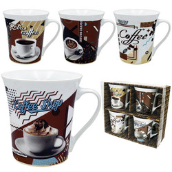 PORCELAIN MUG SET