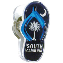 SOUTH CAROLINA, Sandal Acrylic Memo Clip Magnets