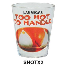 TOO HOT TO HANDLE, SEXY SHOT GLASS