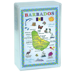 Barbados Plastic Deck Playing Cards