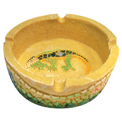 Iguana Sandstone Ashtray