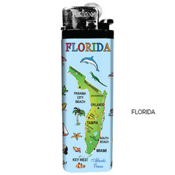 FLORIDA Map Lighters