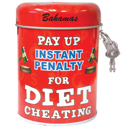 Dieting Tin Can Bank