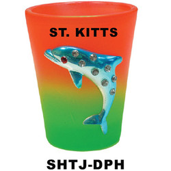 DOLPHIN Jewel Shot Glasses