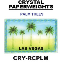 Palm Trees Paperweight