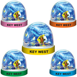 FISH FLOATING WATER GLOBE MAGNETS