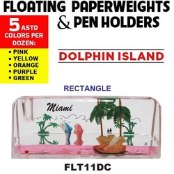 Rectangle Paperweight & Pen Holder