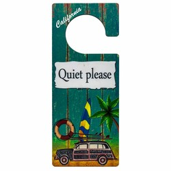 DO NOT DISTURB Door Knob Sign