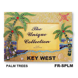 Palm Tree Mosaic Frame
