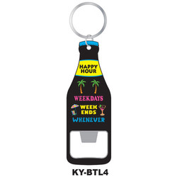WEEKDAYS KEYCHAIN BOTTLE OPENER