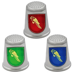 STAINLESS STEEL THIMBLES. PARROT