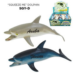 SQUEEZE DOLPHIN TOY (2 DZ/ DSP