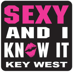 SEXY AND I KNOW IT, PVC NEON MAGNETS