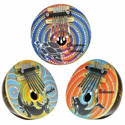 Kalimab Drum Piano. Kalimba Drum Piano. 3 Assorted Designs.
