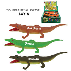 SQUEEZE ALLIGATOR TOY