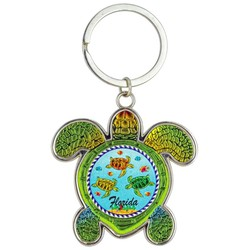 Turtle Foil Key Chain, Turtles