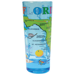Florida Map Shooter Shot Glass