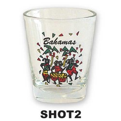 DANCERS SHOT GLASS