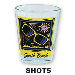 SUNGLASSES SHOT GLASS
