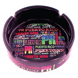 Puerto Rico Signature Collection Ceramic Ashtray