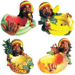 Rasta Fruit Ashtray