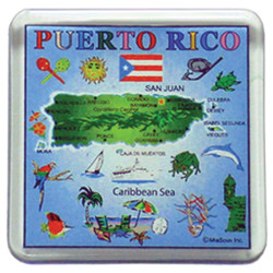 Puerto Rico Map Square 2